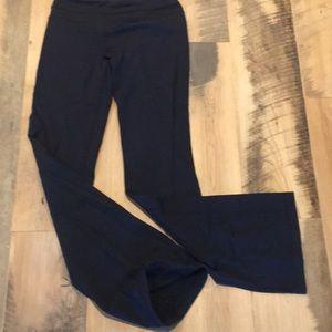 Lululemon yoga pants. Black 8 tall & reg